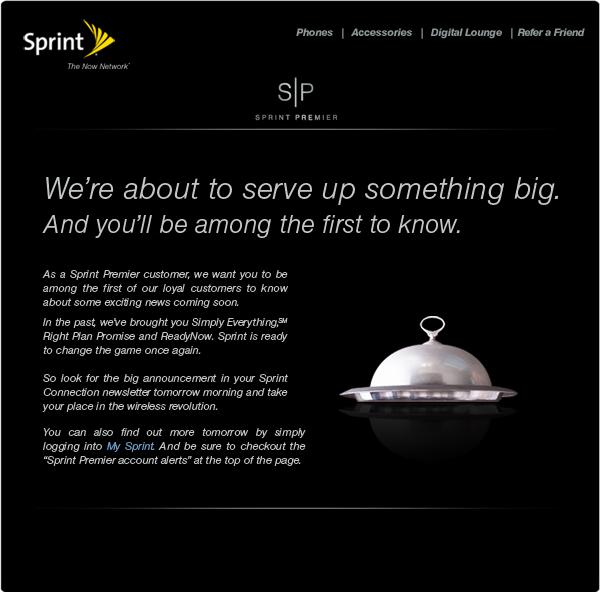 "Sprint to announce a ""wireless revolution"" tomorrow   BGR   Boy ..."