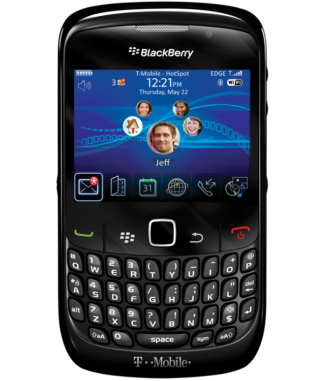 blackberry curve 8520 black white. BlackBerry Curve 8520