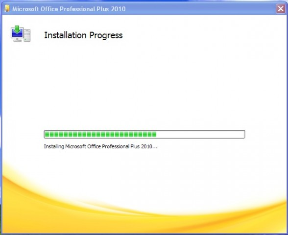 Office 2010 Install