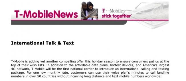 t mobile text message  plans