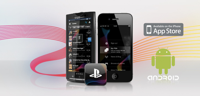 Sony PlayStation for IOS implementation and Android