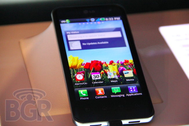 Hands-On With LG Optimus Black