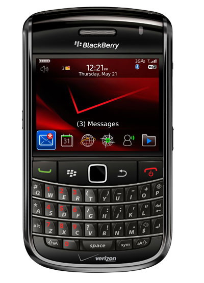 the BlackBerry Bold 9650