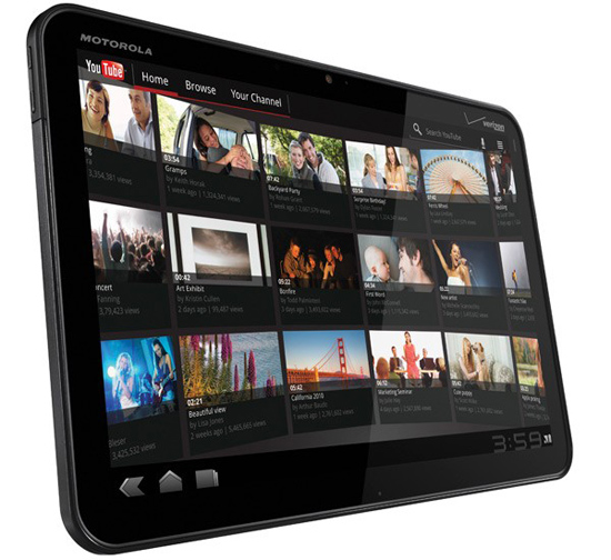 Motorola XOOM, Tablet Android Honeycomb