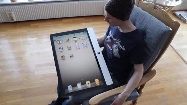 apple ipad tablet  video