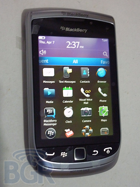 Photo of BlackBerry Torch 2