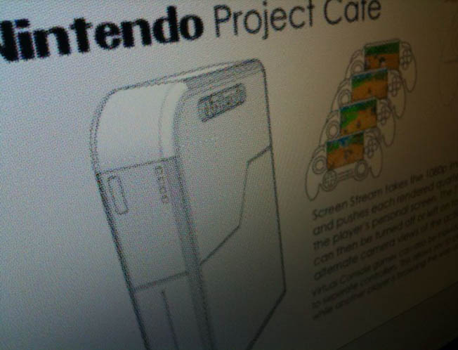 Nintendo proget cafe Nintendo Wii 2 innovation