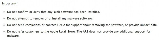 > Apples new strategy for 1st major virus outbreak: DONT confirm infection & DONT help. - Photo posted in Tech Questions and Answers | Sign in and leave a comment below!