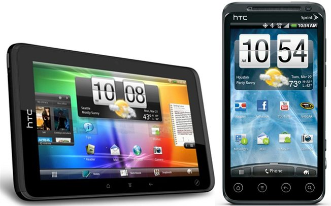 Sprint HTC Evo 3D Phone and HTC Evo View 4G Release Date