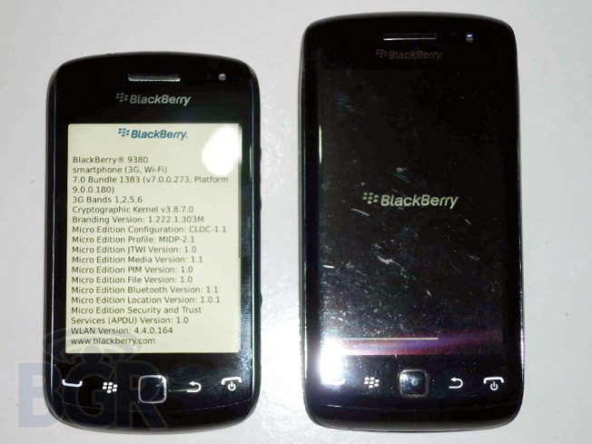 RIM reveals BlackBerry Bold 9790, Curve 9380