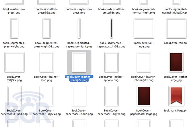 用于iPad 3的高清图片在iBooks 2上被发现?