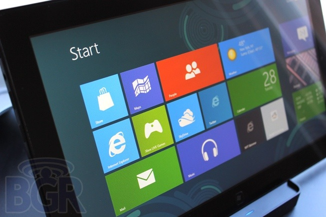 BGR win8 tablet 1 ARM devices running Windows 8 will have locked bootloaders