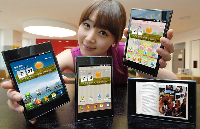 LGVu LG unveils the Optimus Vu, a 5 inch 'phablet'