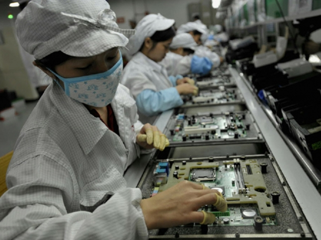 iPhone 5 Foxconn Workers