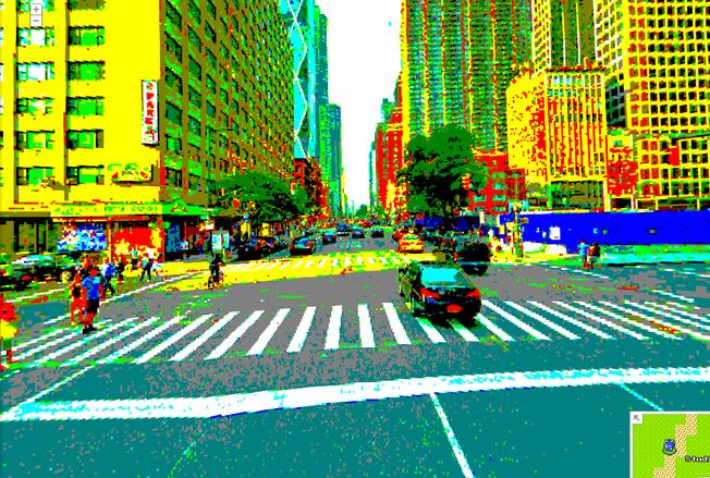 8 bit america google maps Tour an 8 bit America with Google Maps tweak