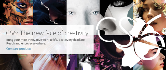 Adobe CS6 now available