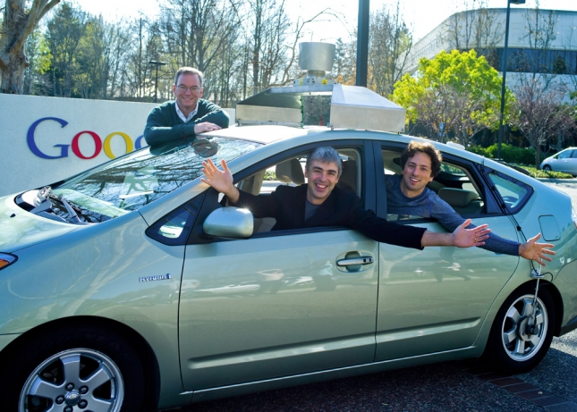 google self driving car 645x461 One in five want self driving cars