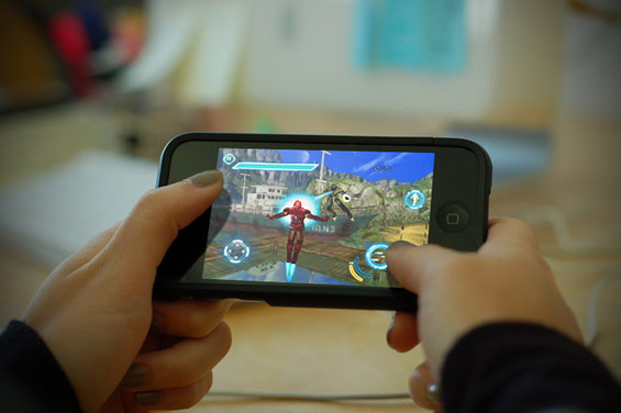 mobile gaming Tablets and smartphones are turning handheld gaming devices into a niche