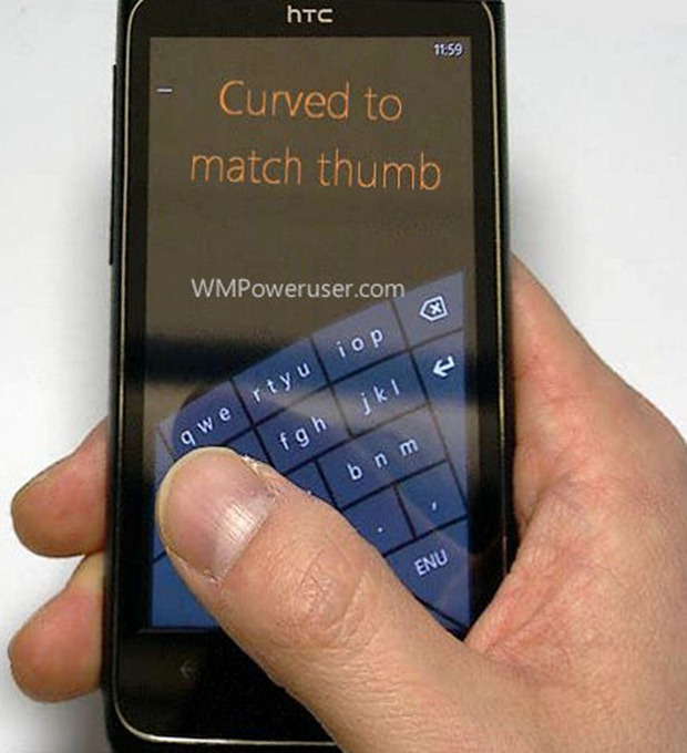 Microsoft Windows Phone Keyboard Redesigned