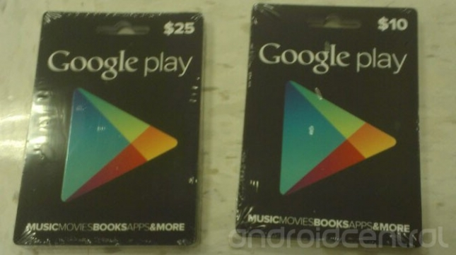 Google Play Gift Cards 645x361 Googles Play Store is getting gift cards, wish lists