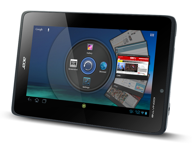Acer Iconia Tab A110 Release Date