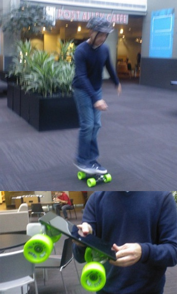 surface skateboard Microsofts new Tablet Surface, can be used as skateboard! gadgetzz
