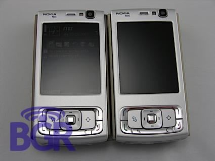Bgr Nokia Hands-on N95-3 –